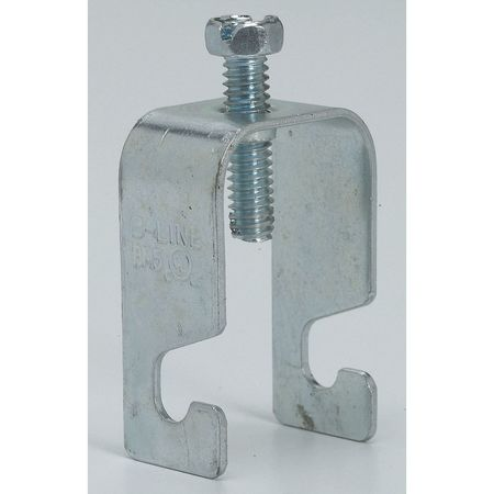Grid Wire Clamp, Steel, Zinc Plated