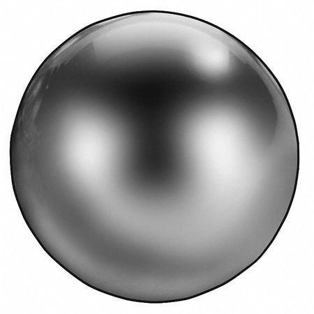 Precision Ball, Chrome, 7/16 In, Pk50