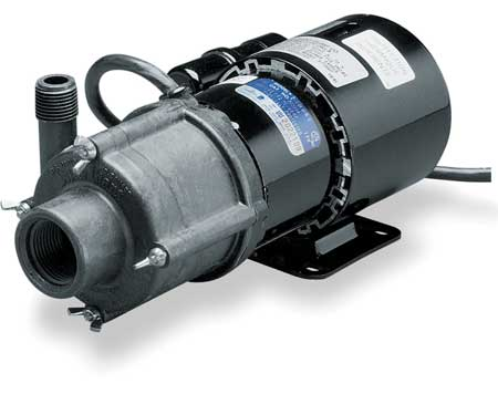 "1/25 HP PPS Magnetic Drive Pump 115V 1/2"" FPT"