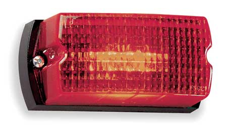 Low Profile Warning Light, Strobe, Red