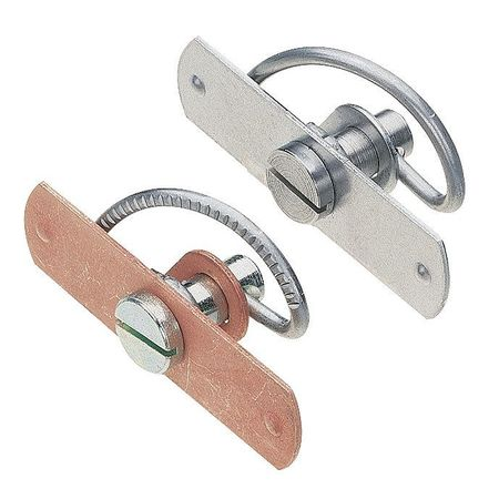 Spring-Cam Latch, Nonlocking, Zinc Plated