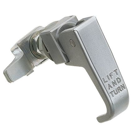Compression Latch, Nonlock, Polishd Chrome