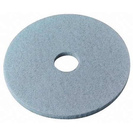 Burnishing Pad, 19 In, Aqua, PK5
