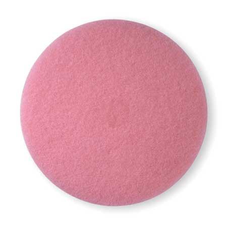 Burnishing Pad, 24 In, Pink, PK5