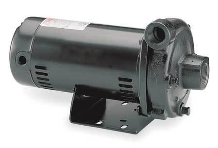 Cast Iron 1-1/2 HP Straight Center Discharge Pump 115/230V