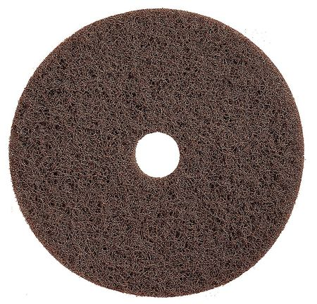 Stripping Pad, 13 In, Brown, PK5