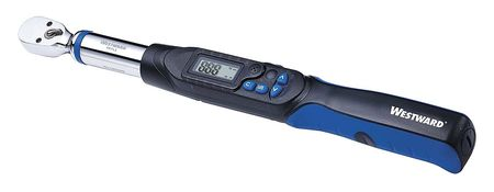 Elect Torque Wrench, 3/8 In, Fixed