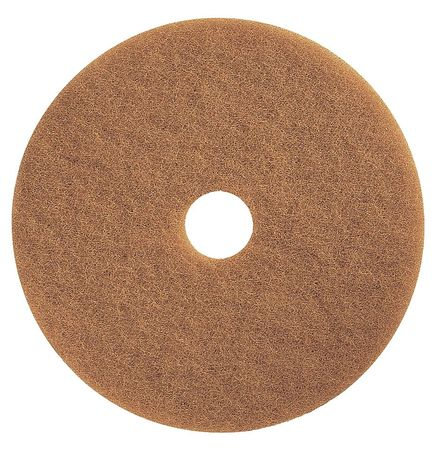Burnishing Pad, 19 In, Tan, PK5