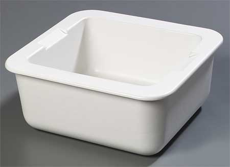 Two-Thirds Size Food Pan, White,  16 Qt