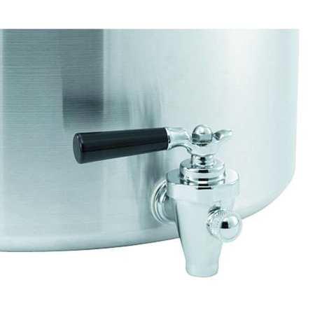 Alum. Stock Pot With Faucet,  40 Qt