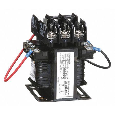 Control Transformer, 100VA, 4.43 In. H