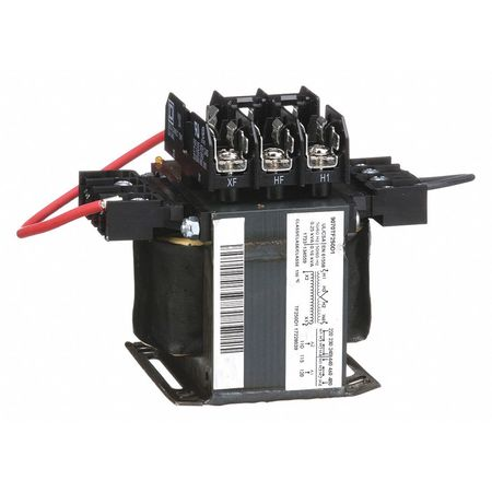 Control Transformer, 250VA, 4.55 In. H