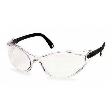 Honeywell Espresso Safety Glasses,  Scratch-Resistant,  Wraparound
