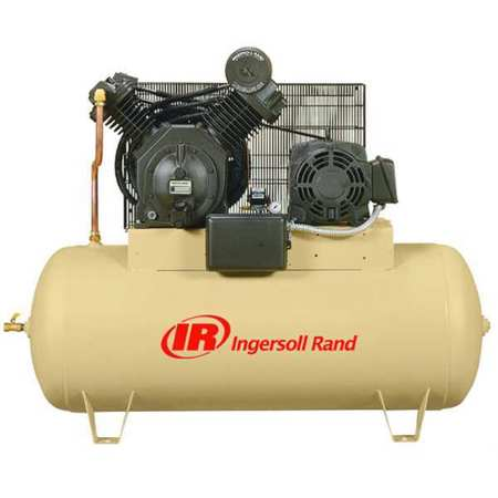 Electric Air Compressor, 2 Stage, 15 HP