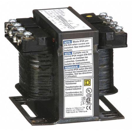 Control Transformer, 100VA, 12/24VAC