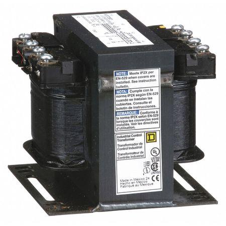 Control Transformer, 200VA, 3.20 In. H