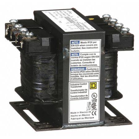 Control Transformer, 75VA, 4.43 In. H