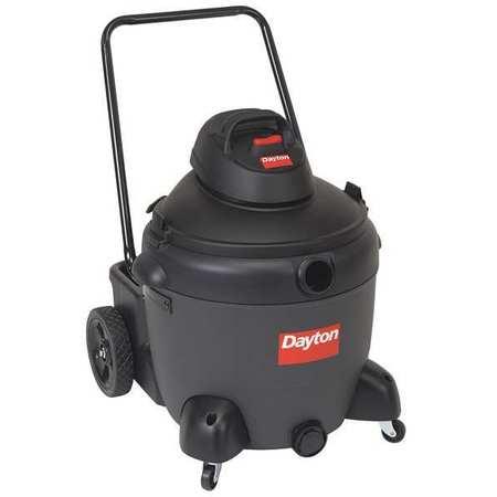 Wet/Dry Vacuum, Air Flow 135 cfm, 6 HP