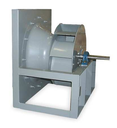 Plenum Fan, Whl Dia 22 In, Less Dr Pkg