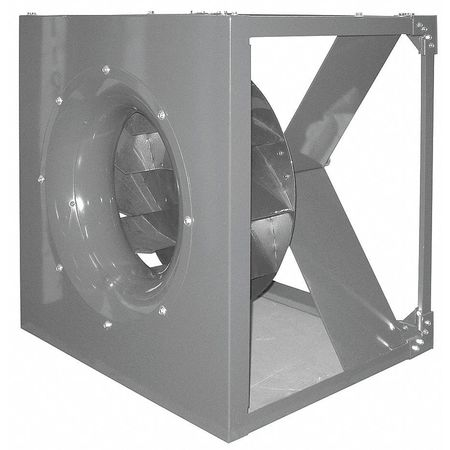 Plenum Fan, Whl Dia 18 1/2 In, Less Dr Pkg