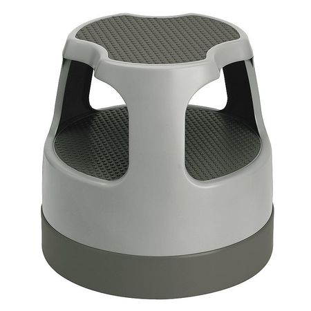Office Step Stool 15 In H 300lb Plastic  sc 1 st  Zoro.com : rolling step stool - islam-shia.org