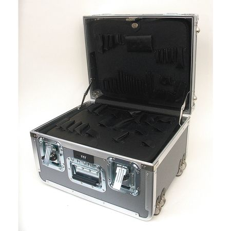 Protective Case, 19-1/2x15-1/2x12-1/2, Gry