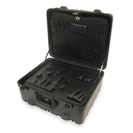 Protective Case, 19-1/8x17x10, 40lb, Black