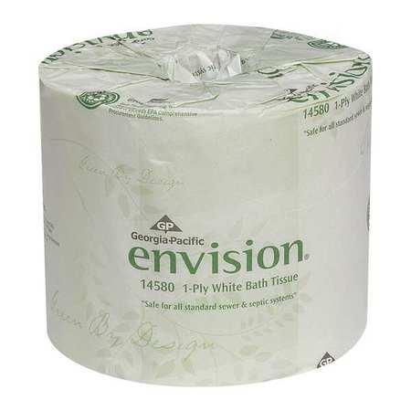 Toilet Paper, Envision, 1Ply, PK80