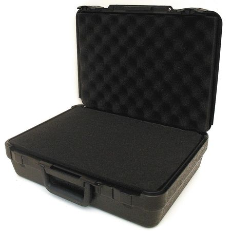 Protective Case, 15x11x4-3/8 In, 6lb, Black