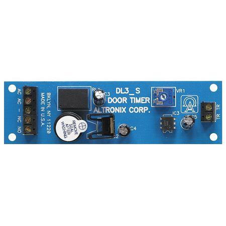 Door Control Timer W/Sounder  sc 1 st  Zoro Tools & Altronix Door Control Timer W/Sounder DL3 | Zoro.com