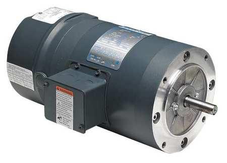 Brake Motor, 3/4 HP, 1725, 208-230/460, 56C