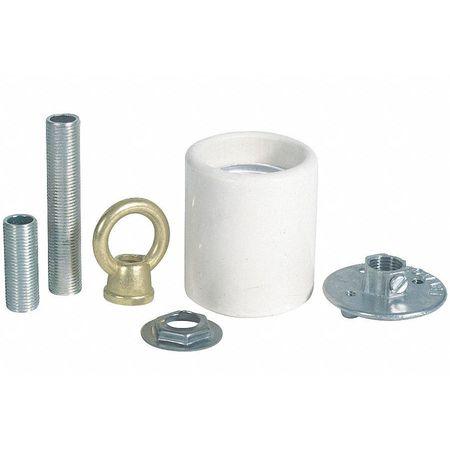 Socket Adapter Kit, Porcelain Keyless
