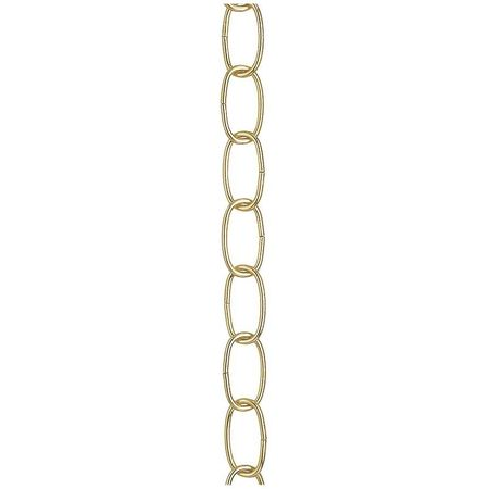 12ft Chain Swag Light Kit Brass Finish