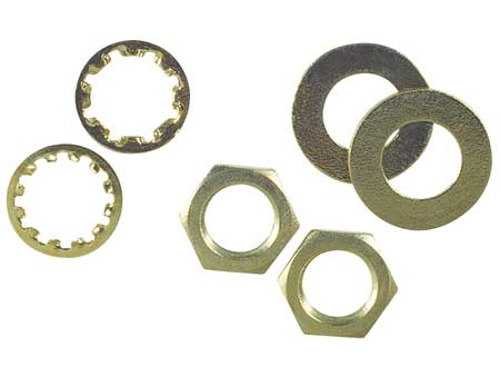 Assorted Nuts/Washers, PK6