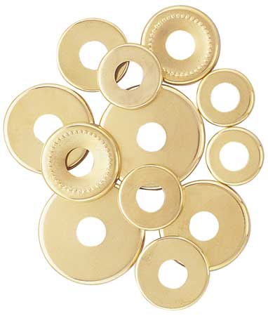 Assorted Check Rings, PK12