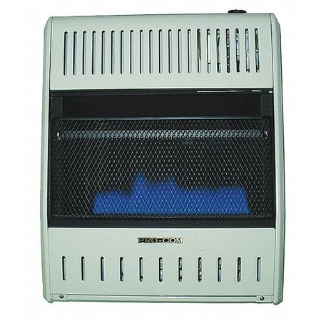20000 BtuH Convection Vent Free Portable Gas Heater,  LP/NG