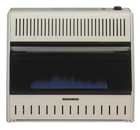 30000 BtuH Convection Vent Free Gas Heater,  LP/NG
