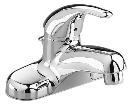 Bathroom Faucet Standard Spout,  Chrome,  2 or 3 Holes,  Lever Handle