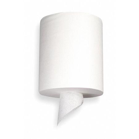 """White Paper Towels Roll 7-7/8""""W x 186'L,  6 Rolls"""