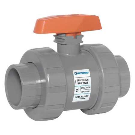 "1"" Socket CPVC Ball Valve Inline True Union"