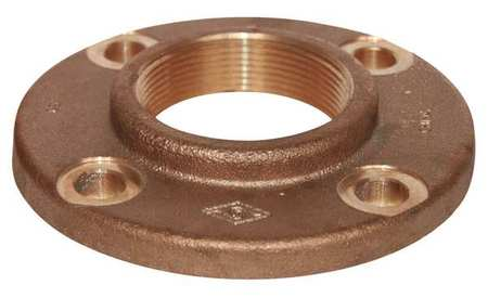 "1"" FNPT Red Brass Flange"