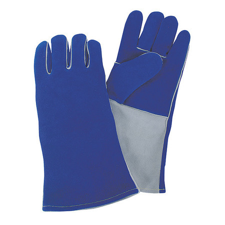 Welding Gloves, Welding, 14In., M, PR