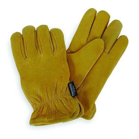 Cold Protection Gloves, M, Golden Ylw, PR