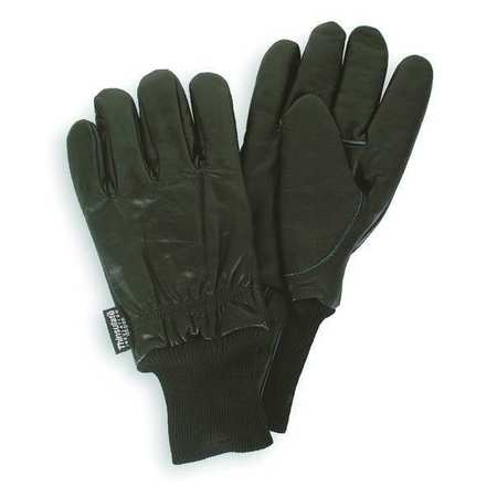 Cold Protection Gloves, XL, Black, PR