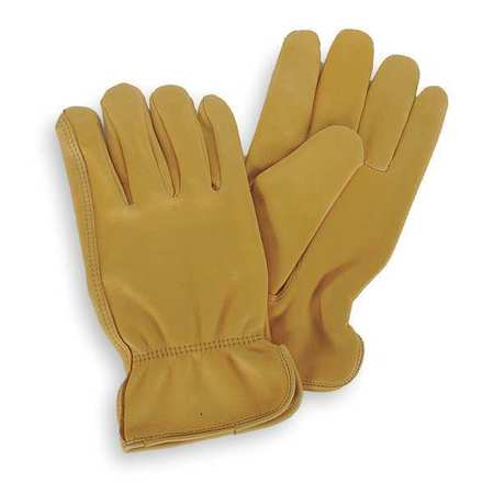 Drivers Gloves, Deerskin, L, Gold, PR