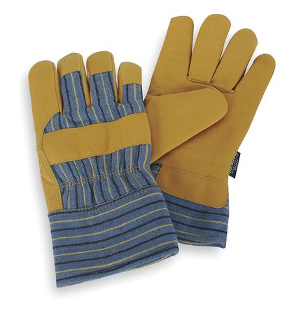 Cold Protection Gloves, M, Gld Ylw/Blue, PR
