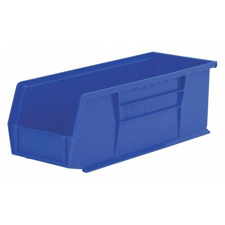 Hang/Stack Bin, 14-3/4 x 5-1/2 x 5, Blue