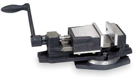 Milling Vise, 4 In. Jaw