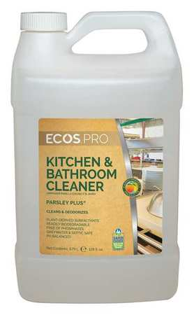 Kitchen Cleaners, Size 1 gal., Parsley