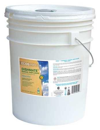 Liquid Dish Detergent, 5 gal., Unscented